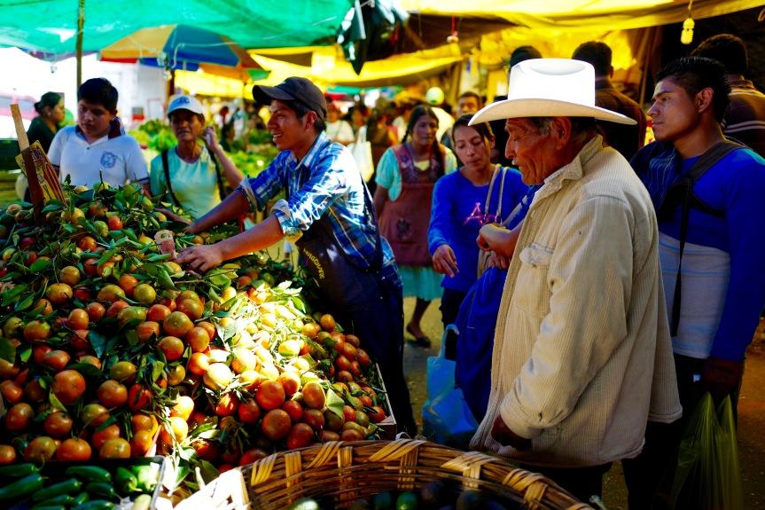Local market...