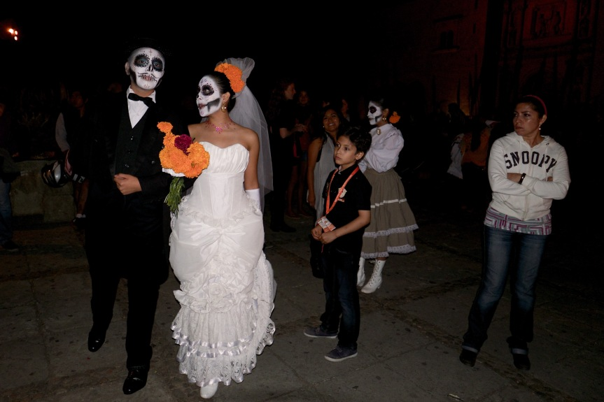 Just married, Oaxaca style...