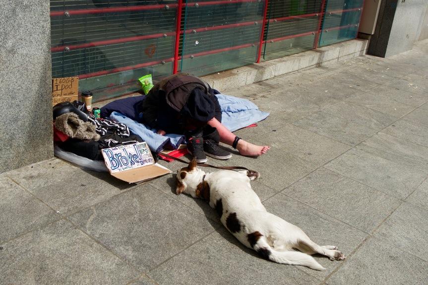 Homeless & company....